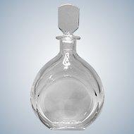 Beautiful Orrefors Sweden Crystal Decanter Nils Landberg Design #2497-11