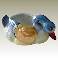 Lusterware Swan Hand Painted Japan