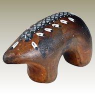 Navajo Bear Fernandez Benally Figurine