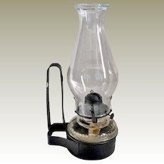 Wall Oil Lamp Queen Anne Burner