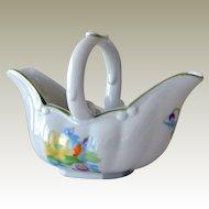 Gravy Boat Basket Seymour Mann Water Lily