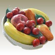 Fruit Bowl Bassano Italy Handmade