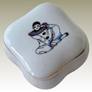 Trinket Box Pierrot Deco Style
