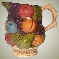 Pitcher Raised Fruit Ceramic