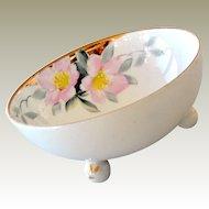 Nippon Bowl Azalea Pattern Hand Painted
