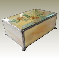 Glass Box with Roses