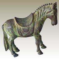 Bronze Chinese Horse Figurine