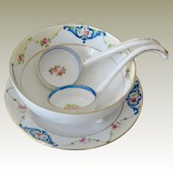 Noritake Morimura Serving Set Hand Four Pieces