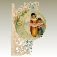 Children Oriental Theme Die Cut Scrap