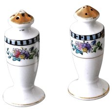 Salt Pepper Shakers Sheridan Pattern Japan