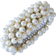 Expansion ChaCha Bracelet Simulated Pearls