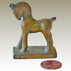 Miniature Chinese Style Horse Figurine