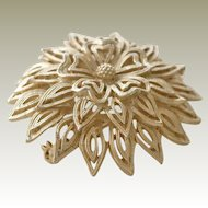 Domed Tiered Lisner Brooch Pin