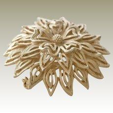 Domed Tiered Lisner Brooch Pin