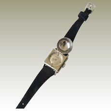 Vintage LeCoultre Watch Flip or Covered Apex Case