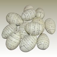 Dozen Eggs Handmade Etched