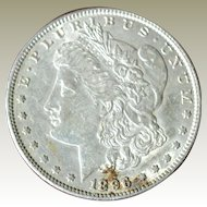 Morgan Silver Dollar 1896 P