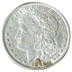 Morgan Silver Dollar 1896 P