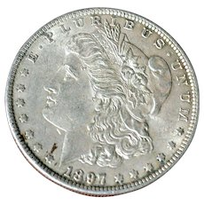 Morgan Silver Dollar 1897P