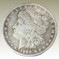 Morgan Silver Dollar 1889-O