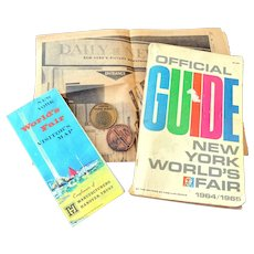 New York World's Fair 1964-1965 Memorabilia