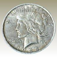 Peace Silver Dollar 1923D