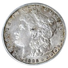 Morgan Silver Dollar 1886P