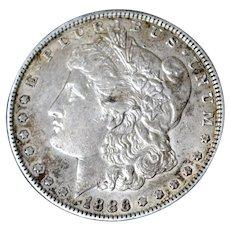 Morgan Silver Dollar 1886P