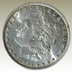 Morgan Silver Dollar 1885P