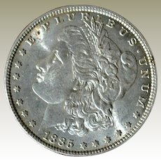 Morgan Silver Dollar 1885P