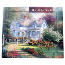 Book Thomas Kinkade Home is Where the Heart Is