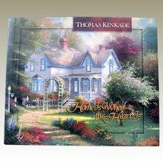 Book Thomas Kinkade Home is Where the Heart Is