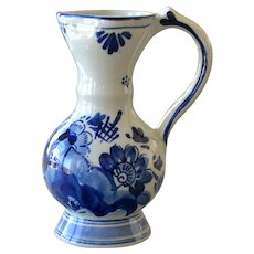 Small Pitcher Ewer Delft  Blauw Hand Painted