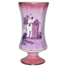 Vase Portugal Hand Painted Stunning Color