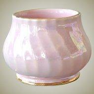 Small Sadler Vase Lustre Pink Swirl