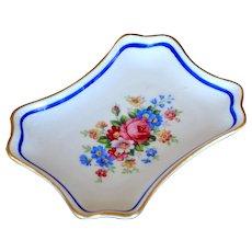 Porcelain Pin Tray  Bavaria Schwarzenhammer