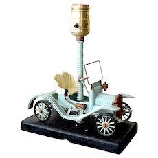 Vintage Maxwell Automobile Table Lamp