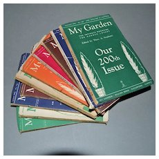 Ten My Garden Magazines 1950s Surrey England