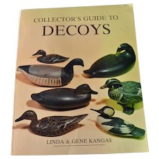 Book Collectors Guide to Decoys Linda and Gene Kangas Author Signed