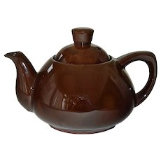 Pottery Teapot Ming Tea Company Small One Cup Seacaucus NJ Tea Pot