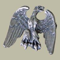 Vintage Pin Patriotic American Eagle Very Detailed