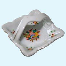 Miniature Porcelain Basket Occupied Japan