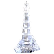 Vintage Lighthouse Lenox Light at Crystal Point Germany