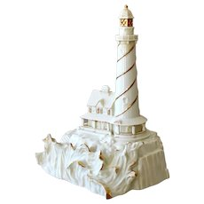 Lenox Collectible Porcelain Lighthouse Spirit of the Sea