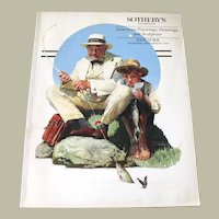 Sotheby's American Paintings Drawings and Sculpture 1990 Auction Catalog
