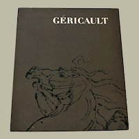 Art Exhibition Catalog Gericault 1971-1972 Paintings and Sketches