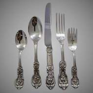 Francis I by Reed & Barton old mark Dinner set for 12