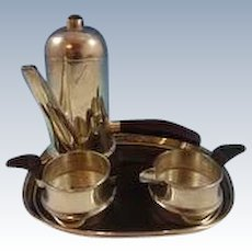 William Spratling Sterling and Rosewood Coffee Service