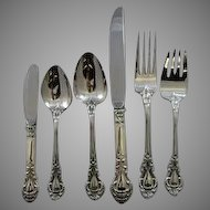 Royal Dynasty by Stieff Sterling flatware service for 12