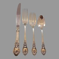 """Details about  /Vivant by Oneida Sterling Silver Regular Fork New 7 1//2/"""""""
